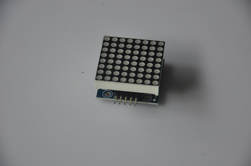 Use Arduino drive MAX72xx 8-digit LED display  module