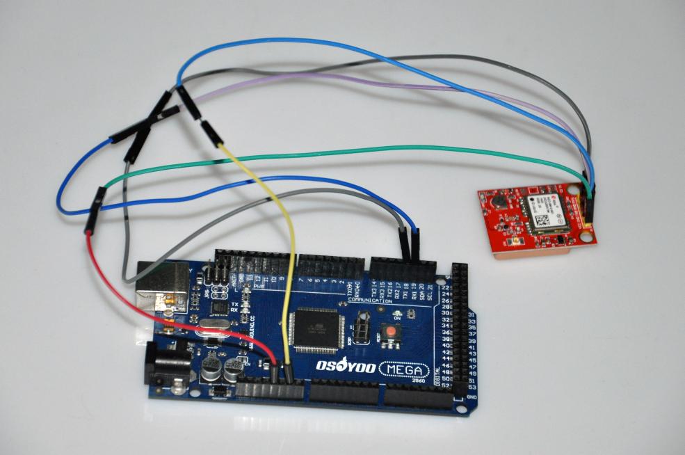 Neo-6m gps module arduino code