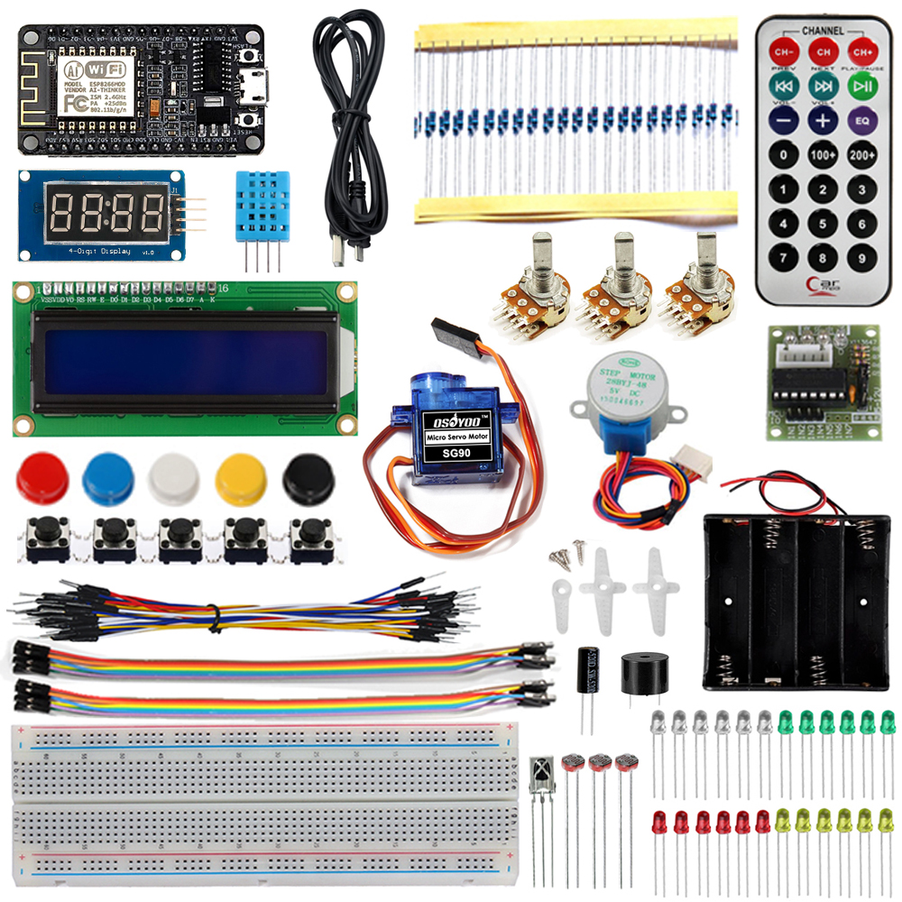 Osoyoo NodeMCU IOT Programming Learning Starter Kit