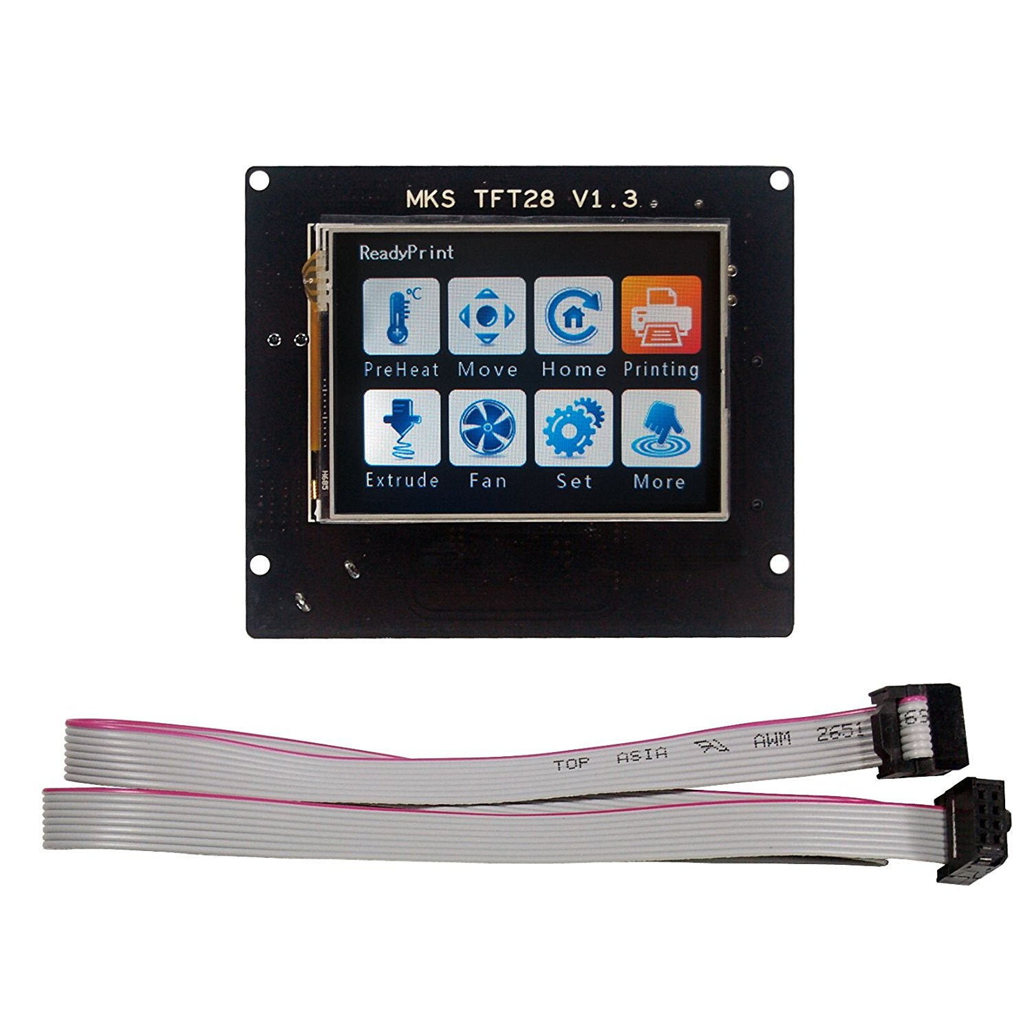 Ramps14 Mks Tft 28 Touch Screen User Guide Diy 3d Printer Connections Of Ramps 1 4