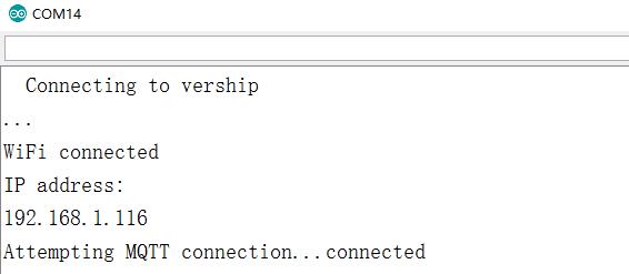 Use NodeMCU to send tilt sensor value to remote MQTT client
