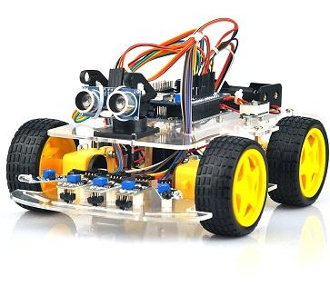 Arduino/ESP8266 Wifi Smart Car