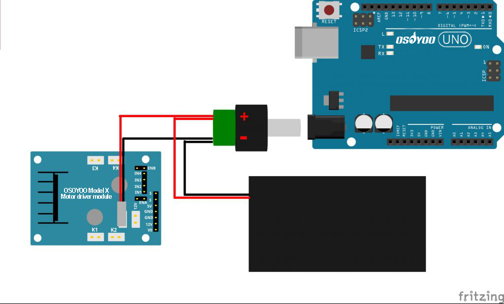 Arduino lesson – Use the IR Control to Control a DC Motor