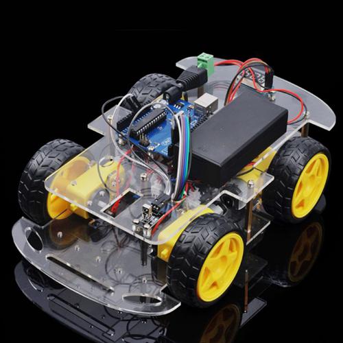 ロボットカー初心者キット第2課 赤外線リモコンでロボットカーの制御する