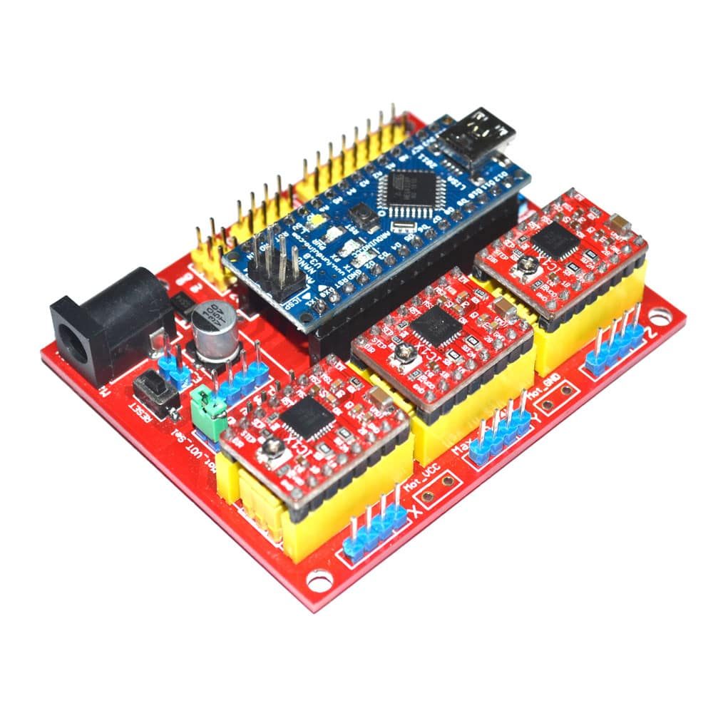 Arduino NANO +CNC Shield V4.0+A4988 User Manual