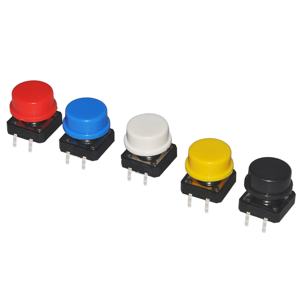 colorful buttons cap pack