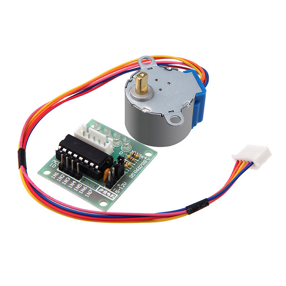 Stepper Motor with Driver (28BYJ-48 5V DC)
