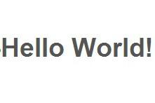 NodeMCU Lesson 2---Hello World!