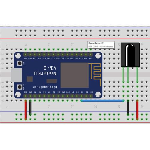 NodeMCU Lesson 13--- Infrared Remote Control & MQTT