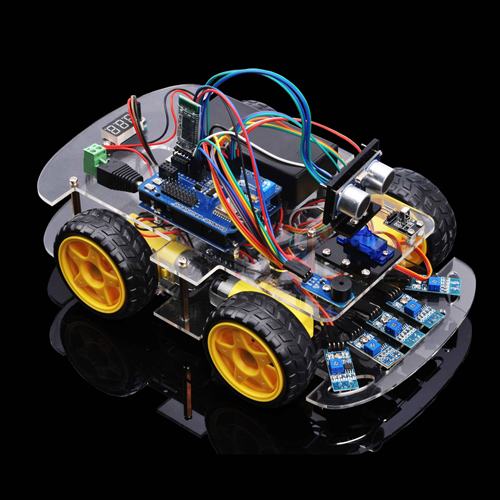OSOYOO Robot Car Starter Kit Lesson 5: Control Robot Car through Wifi and Bluetooth