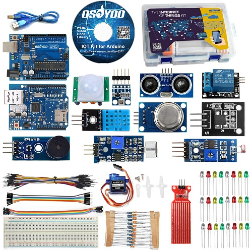 Arduino IOT starter kit with W5100 Shield