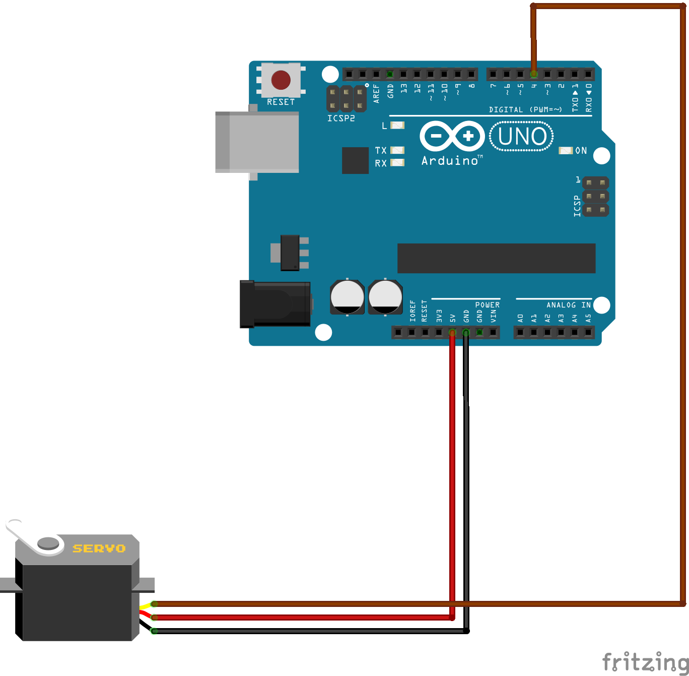 Arduino IOT Lesson 8: Remote control a Servo motor SG90