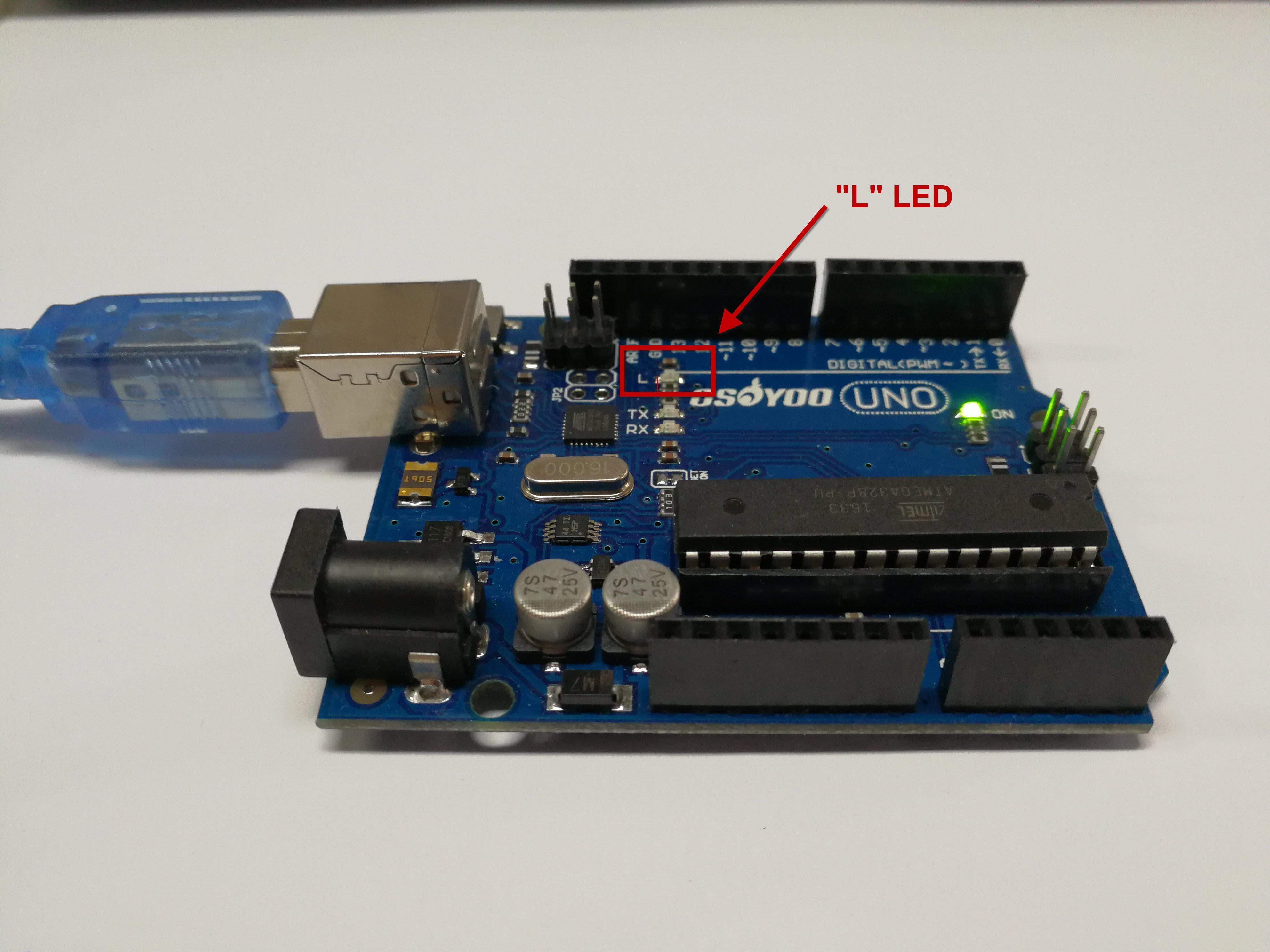 Arduino lesson – Blink « osoyoo com