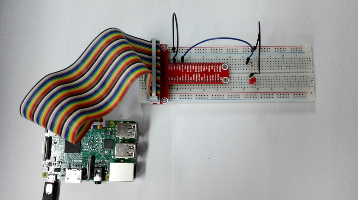 Raspberry Pi Starter Kit Lesson 6 Breathing Led Wiringpi Software Pwm Python Step 2 Code