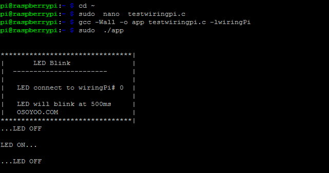 Astonishing Raspberry Pi Starter Kit Lesson 3 Prepare Gpio Tool Wiringpi Wiring Database Obenzyuccorg