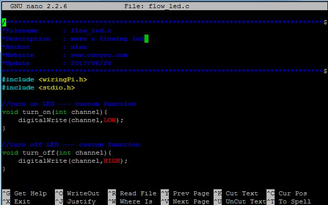 Terrific Raspberry Pi Starter Kit Lesson 5 Flowing Led Osoyoo Com Wiring Digital Resources Spoatbouhousnl