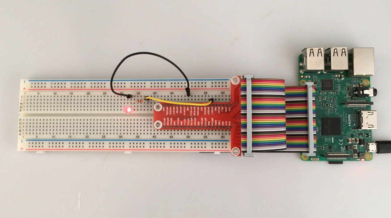 Raspberry Pi Starter Kit Lesson 3 Prepare Gpio Tool Wiringpi How To Install 5after Running The Code Your Terminal Will Show Print Message As Codef Firstly And Then Led Blink Ternimal Status
