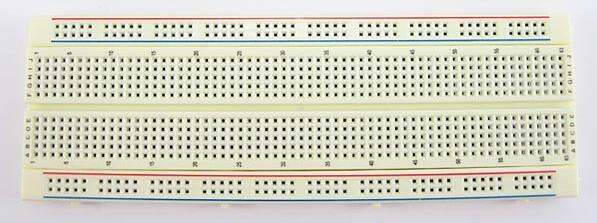 breadboard an introduction Introduction breadboards are one of the most fundamental pieces when learning how to build circuits  a breadboard being powered through the binding posts from .