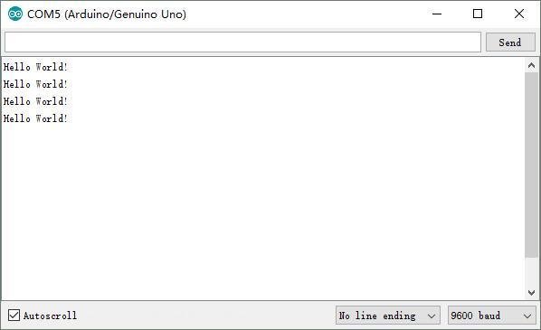 Arduino lesson hello world « osoyoo