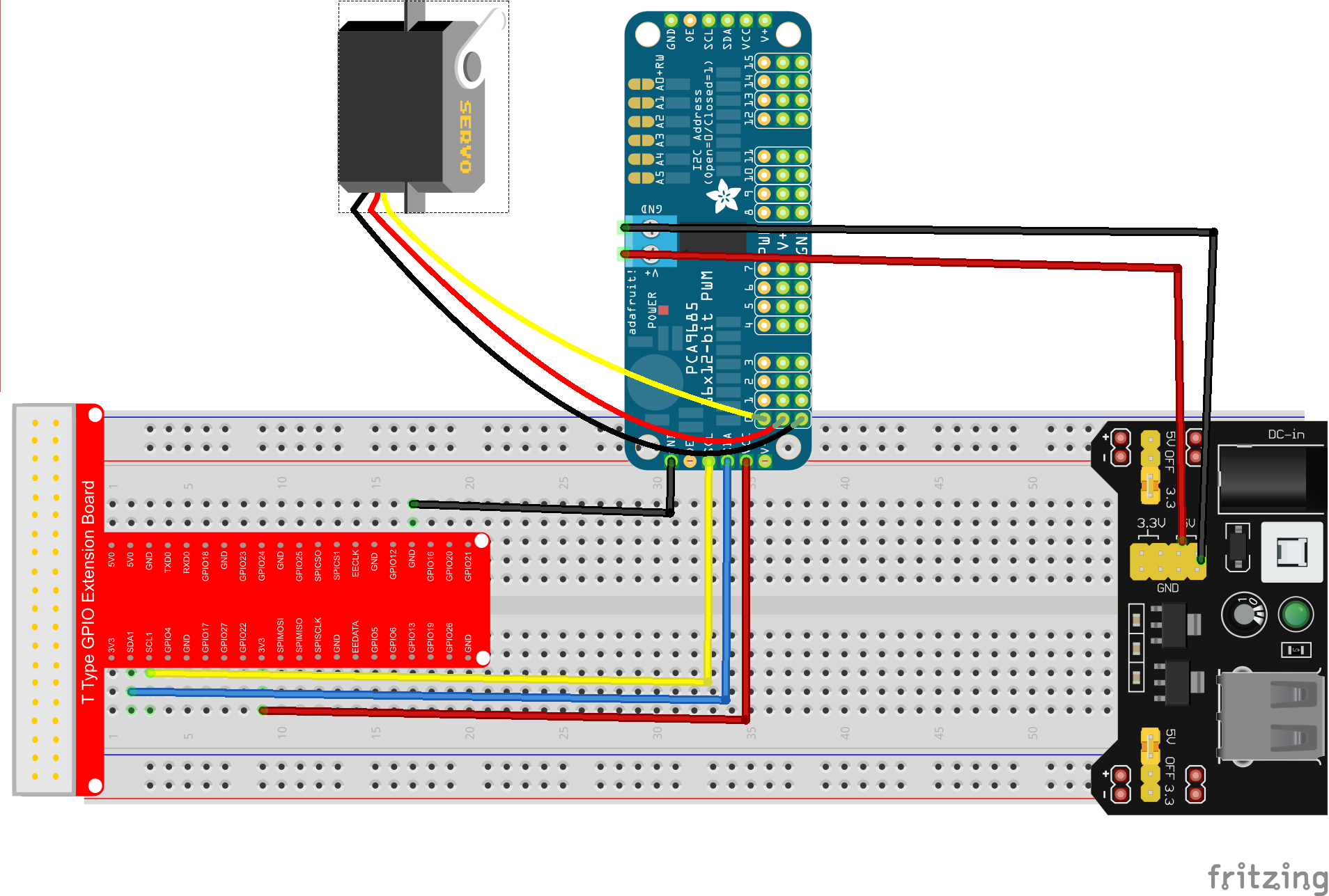 Marvelous Raspberry Pi Starter Kit Lesson 12 Raspberry Pi Drive Sg90 Servo Wiring 101 Capemaxxcnl