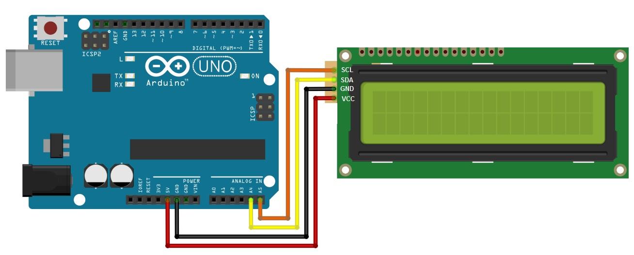 Arduino Lesson  U2013 I2c Lcd1602 Display  U00ab Osoyoo Com