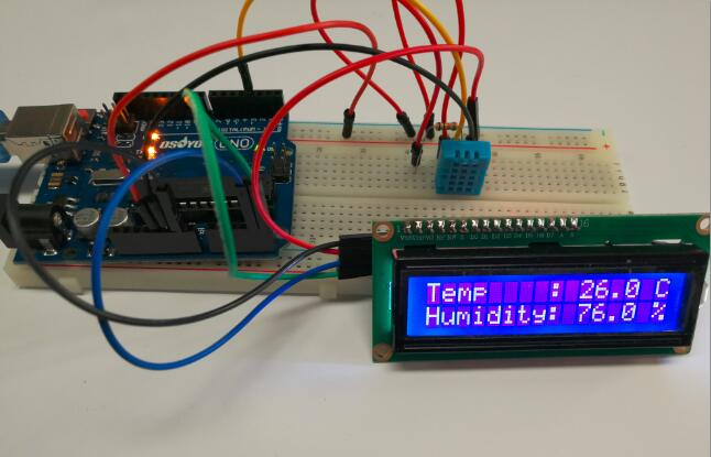 Graphical Programming Tutorial for Arduino – Using the DHT11