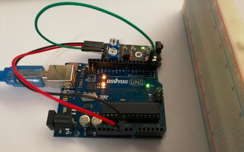 Arduino lesson – IR Obstacle Avoidance Sensor « osoyoo com