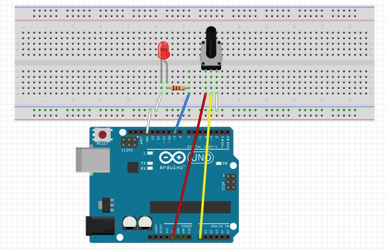 Awe Inspiring Arduino Lesson Potentiometer Osoyoo Com Wiring Digital Resources Zidurslowmaporg