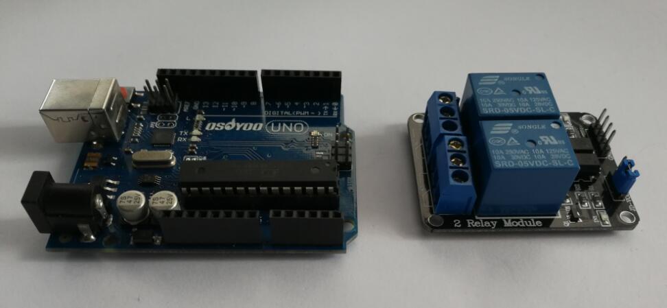 Arduino lesson channel relay module « osoyoo