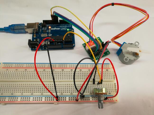 Arduino lesson – Stepper Speed Control « osoyoo com