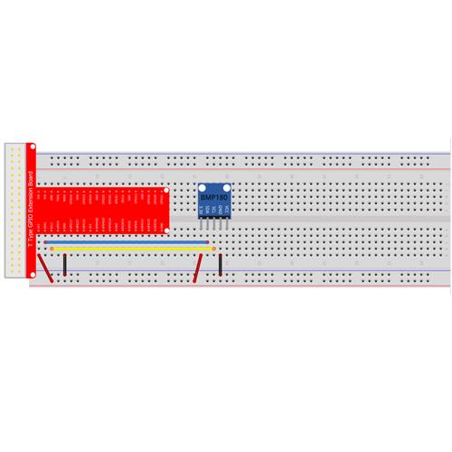 Raspberry Pi Starter Kit Lesson 18: BMP180 Digital Pressure Sensor with Raspberry Pi