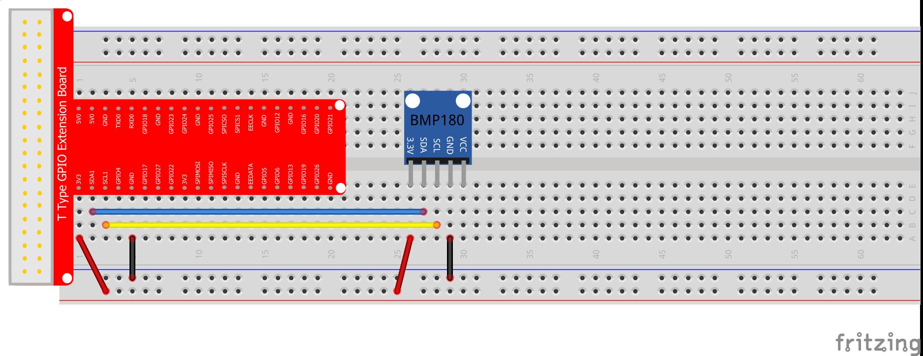 Raspberry Pi Starter Kit Lesson 18 180 Digital Pressure Sensor Import Wiringpi Error Software