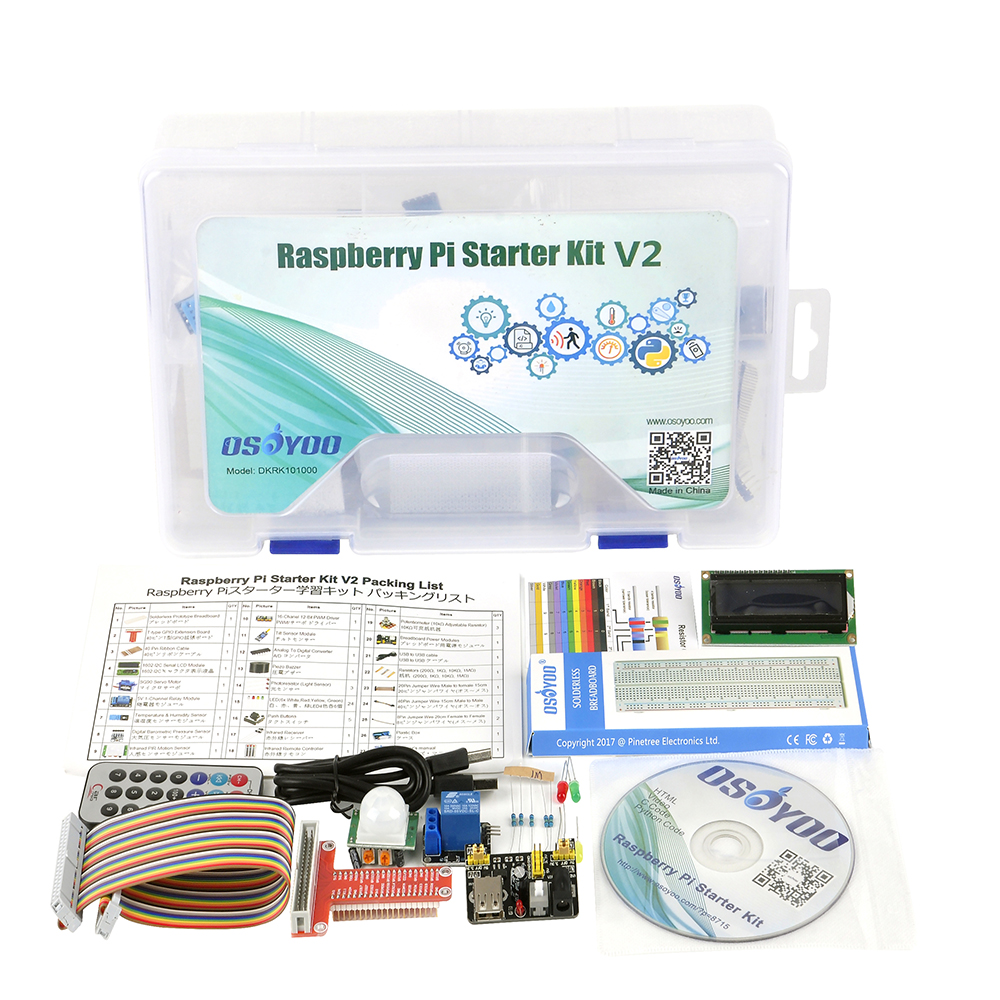 Raspberry Pi3 start learning kit 简介