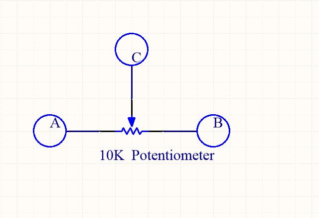 在本课中我们mcp3008读取点位器电压值,经过adc转换后,pi读取转换后的