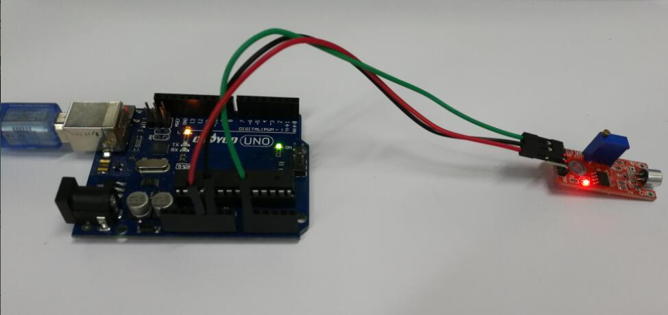 Arduino lesson – Sound Detection Sensor « osoyoo com
