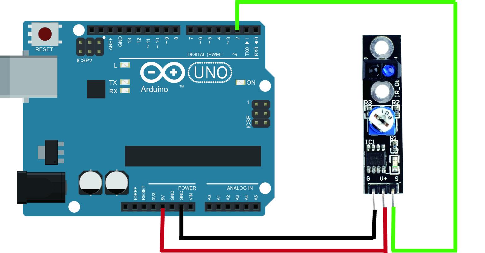 Arduino lesson tcrt ir track sensor « osoyoo