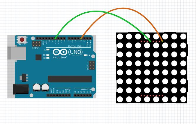 Arduino lesson – 8×8 LED matrix « osoyoo com