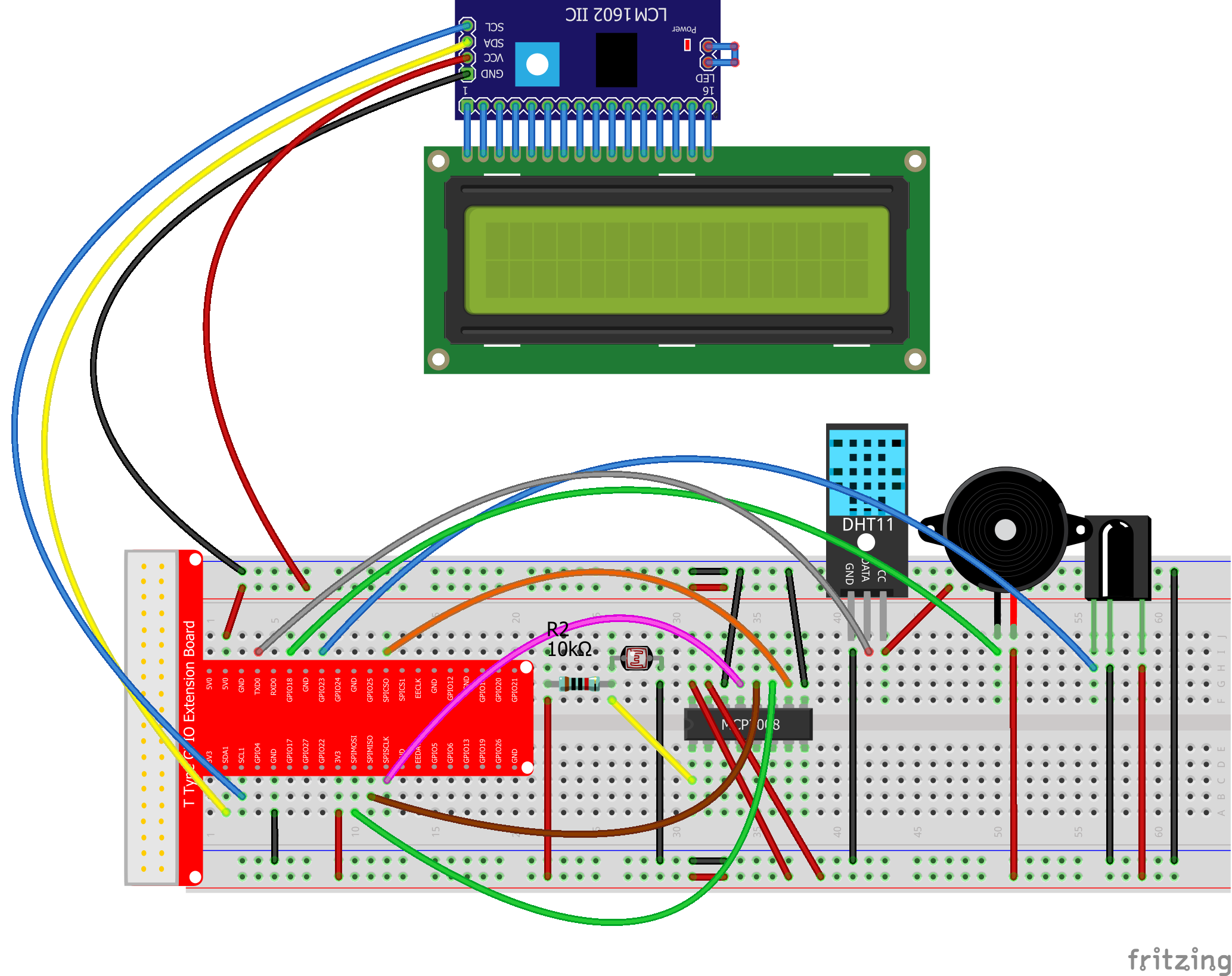 Raspberry Pi Starter Kit Lesson 20 Use Ir Remote To Wiringpi Serial Lcd Connection Graph