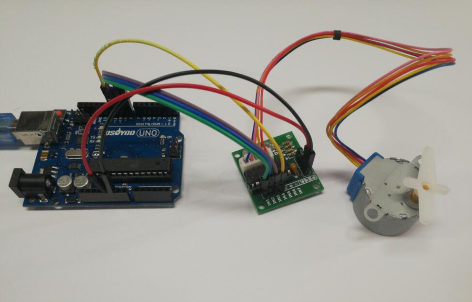 Arduino lesson – Stepper Motor « osoyoo com