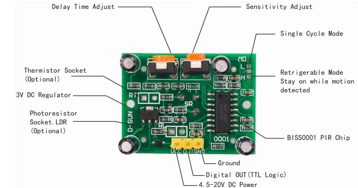 arduino lesson – pir motion sensor « osoyoo