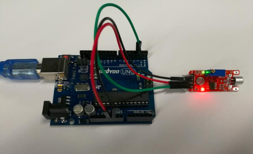 Arduino lesson – Sound Detection Sensor « osoyoo com
