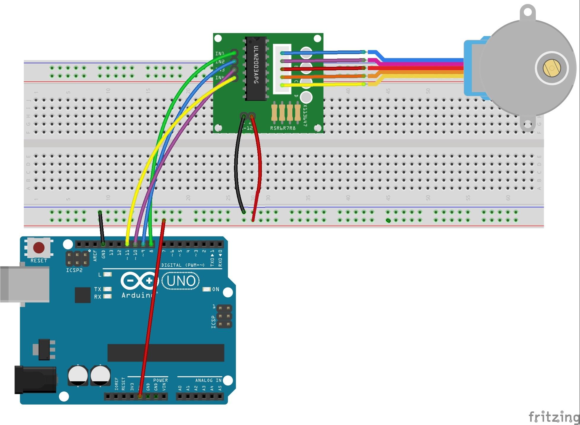 Arduino lesson - Stepper Motor « osoyoo.com