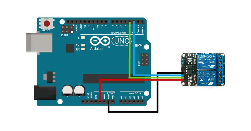 Image result for arduino 2 channel relay module