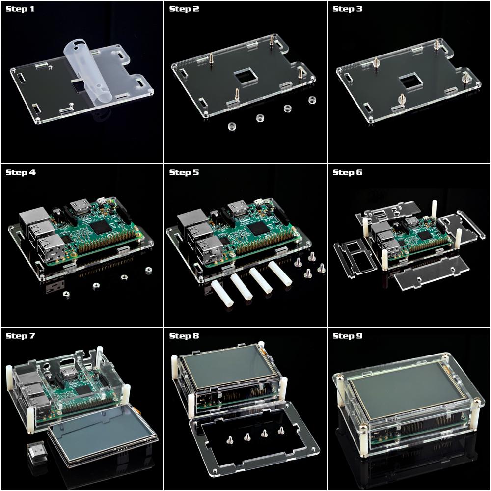 HDMIスクリーン専用ケースの装着方法