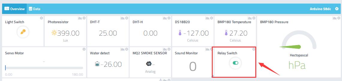 Arduino IOT Lesson 12: Remote Control a Relay Switch « osoyoo com