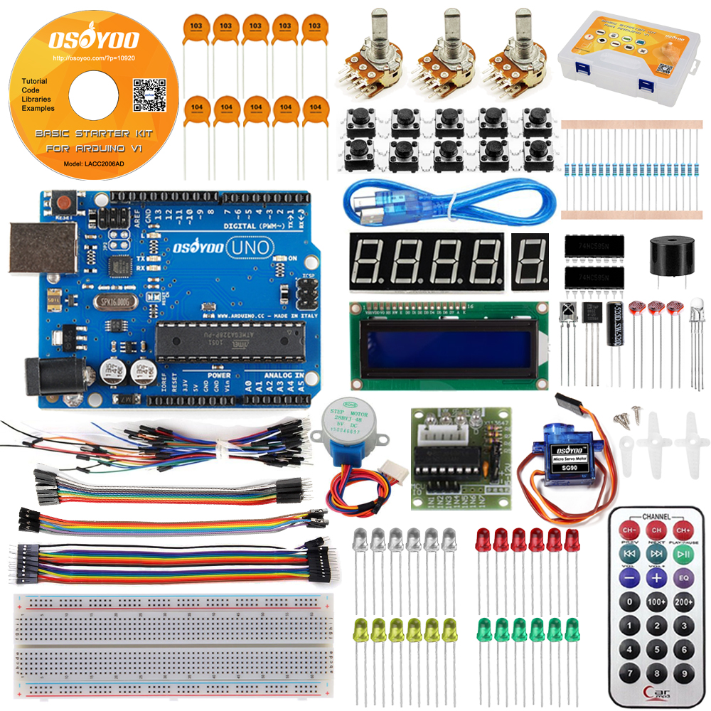 Osoyoo Basic Kit for Arduino Model#LACC2006AD