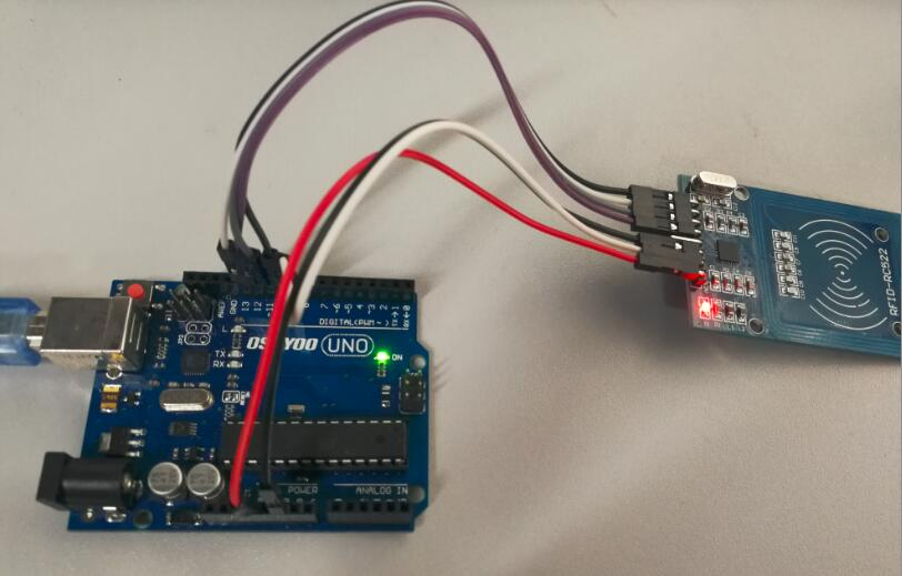 Arduino lesson rfid rc « osoyoo