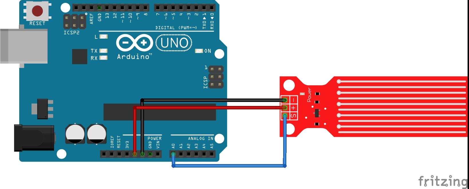 Arduino lesson – Water Sensor « osoyoo.com