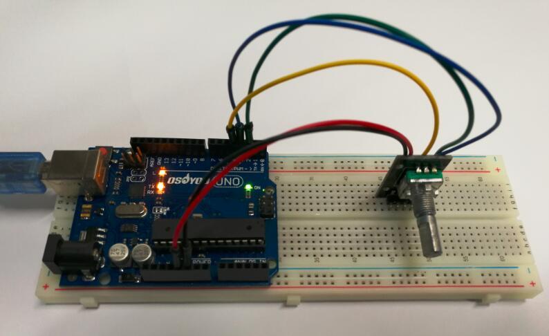 Arduino lesson – Rotary Encoder « osoyoo com