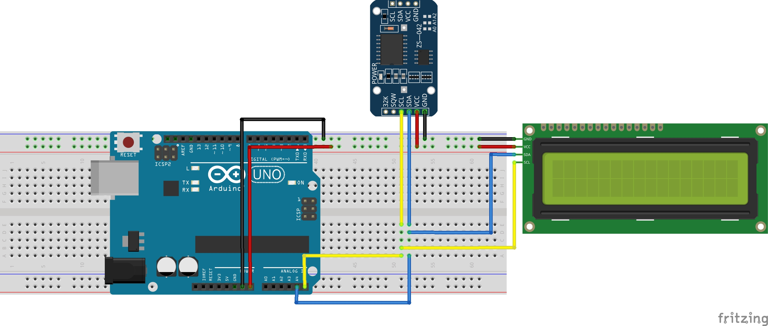 Arduino lesson – Real Time Clock (RTC) Module DS3231 « osoyoo com